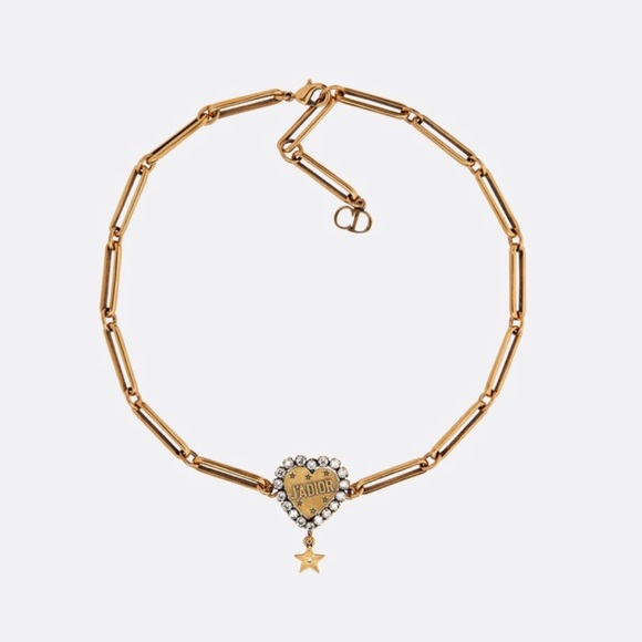 17b225771eeec Dior J'Adior L'Amour Avenir Gold Choker Necklace
